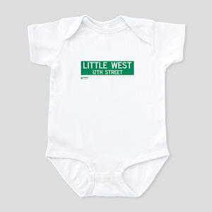Little West 12th Street in NY Infant Bodysuit