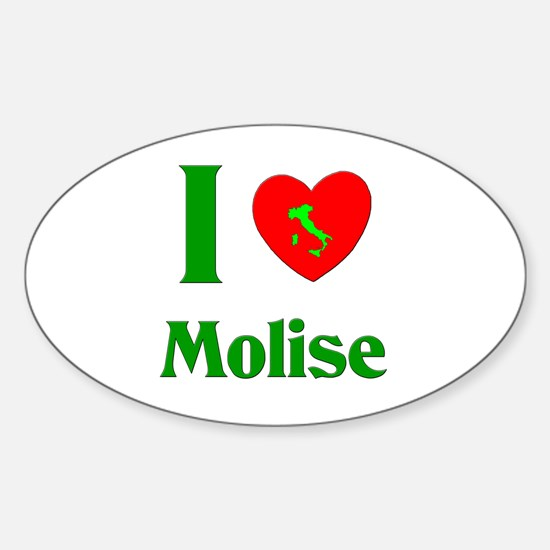 Molise Oval Stickers