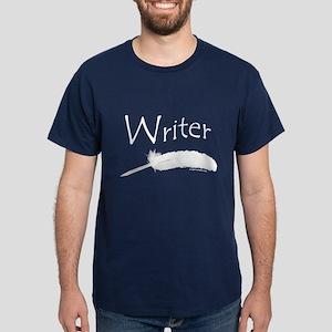 Writer with quill pen Dark T-Shirt