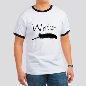 Writer with quill pen Ringer T
