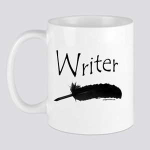 Writer with quill pen Mug