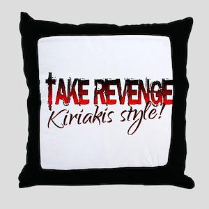 Revenge - Kiriakis Style Throw Pillow