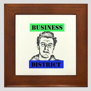 Business District Framed Tile