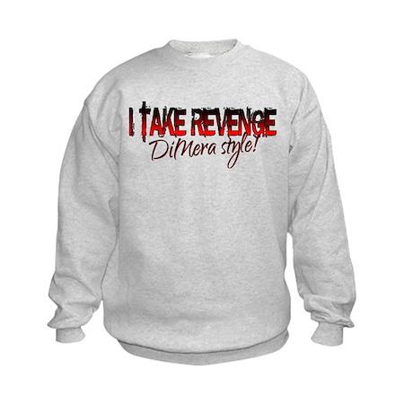 Revenge - DiMera Style Kids Sweatshirt