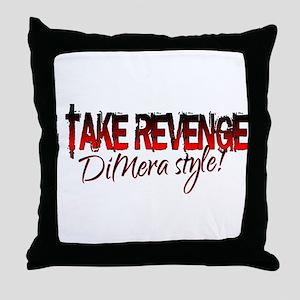 Revenge - DiMera Style Throw Pillow