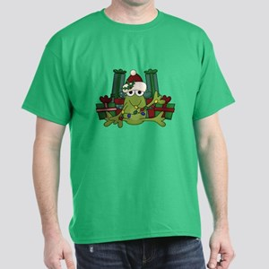 Froggy Christmas Dark T-Shirt