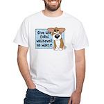Pathetic Eyes Corgi T-Shirt