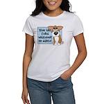 Pathetic Eyes Corgi Women's T-Shirt