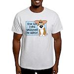 Pathetic Eyes Corgi Light T-Shirt