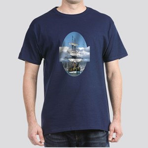 Tall Ships Dark T-Shirt