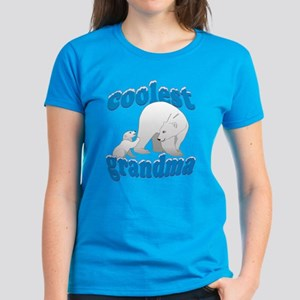 Coolest Grandma Women's Dark T-Shirt