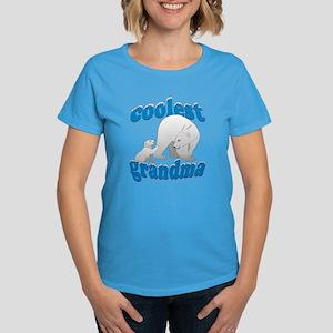 Coolest Grandma Women's Dark T-Shirt
