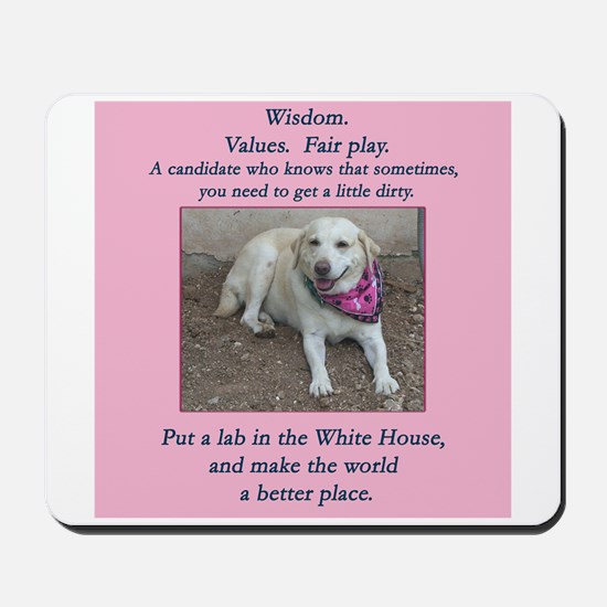 Lab For President Mousepad