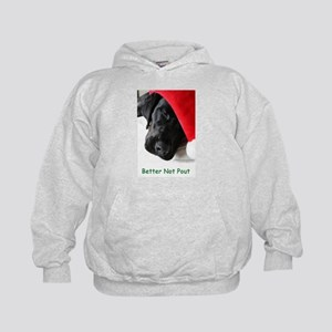Better Not Pout Kids Hoodie