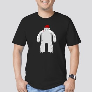 Sasquatchmas Men's Fitted T-Shirt (dark)