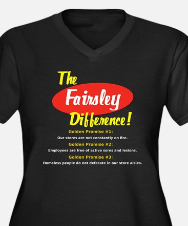 The Fairsley Difference! Women's Plus Size V-Neck
