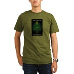 Appalachian Trail Christmas Organic Men's T-Shirt