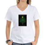Appalachian Trail Christmas Women's V-Neck T-Shirt