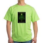 Appalachian Trail Christmas Green T-Shirt