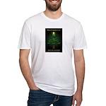 Appalachian Trail Christmas Fitted T-Shirt