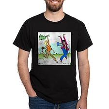 Susan and Maeve Dancing Dark T-Shirt