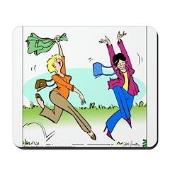 Susan and Maeve Dancing Mousepad