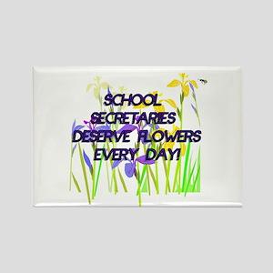 SCHOOL SECRETARIES FLOWERS copy Magnets