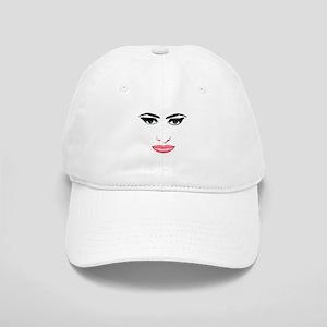 The female face Cap