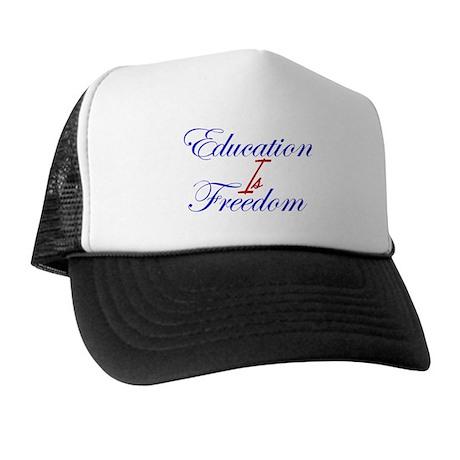 Education Is Freedom Trucker Hat