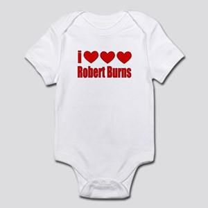 I Heart Burns Infant Bodysuit