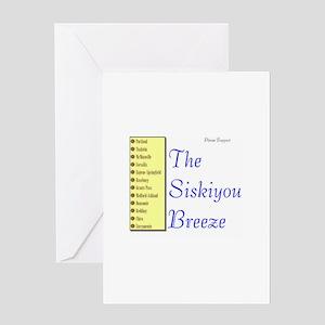 Siskiyou Breeze Greeting Card