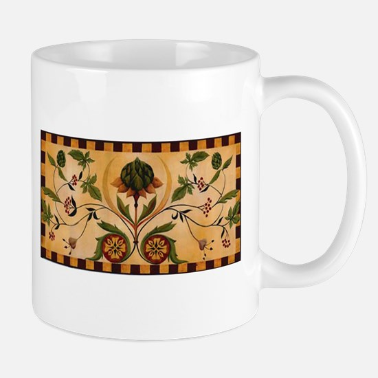 Artichoke and Berries Mug
