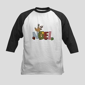Reindeer Noel Kids Baseball Jersey