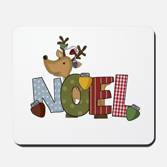 Reindeer Noel Mousepad