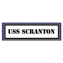 USS Scranton Sticker (Bumper)