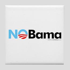 No Bama Tile Coaster