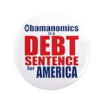 "Obamanomics 3.5"" Button (100 pack)"
