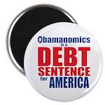 """Obamanomics 2.25"""" Magnet (10 pack)"""