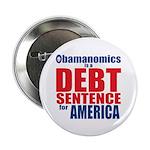 "Obamanomics 2.25"" Button (100 pack)"