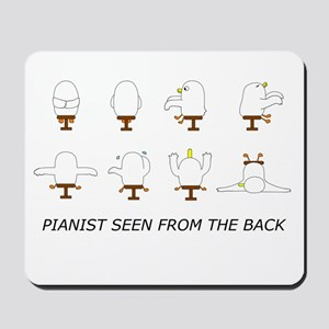 Pianist Seen from the Back (w Mousepad