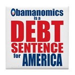 Obamanomics Tile Coaster