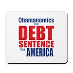 Obamanomics Mousepad