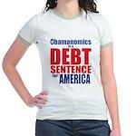 Obamanomics Jr. Ringer T-Shirt