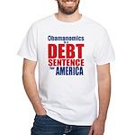 Obamanomics White T-Shirt