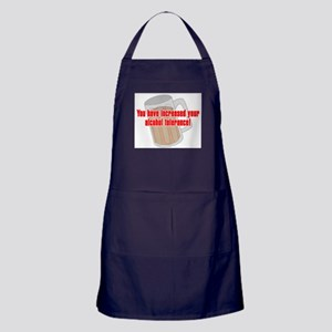 Alcohol Tolerance Apron (dark)