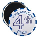 4th Place Magnet