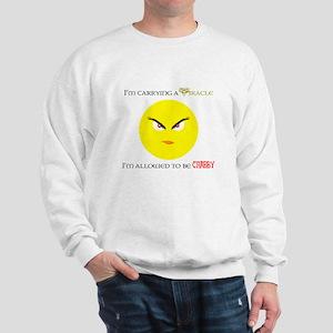 Allowed to be Crabby Sweatshirt