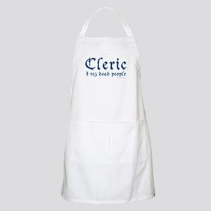 Cleric: I rez dead people Apron