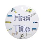 First Title Award Medallion