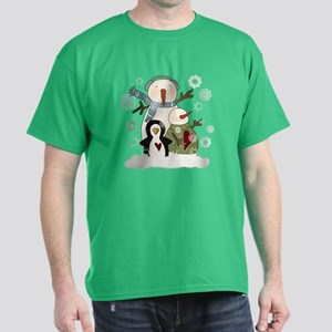 Snow Friends Dark T-Shirt